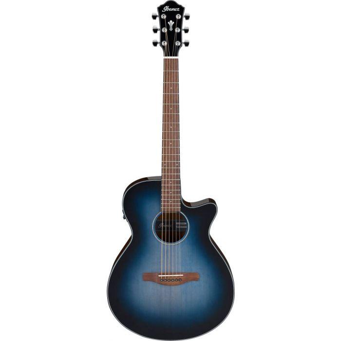 Ibanez AEG50 Electro-Acoustic Guitar Indigo Blue Burst