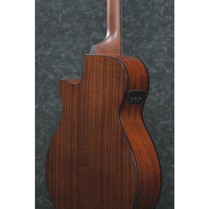 Rear Angled Body View of Ibanez AEG50 Electro-Acoustic Guitar