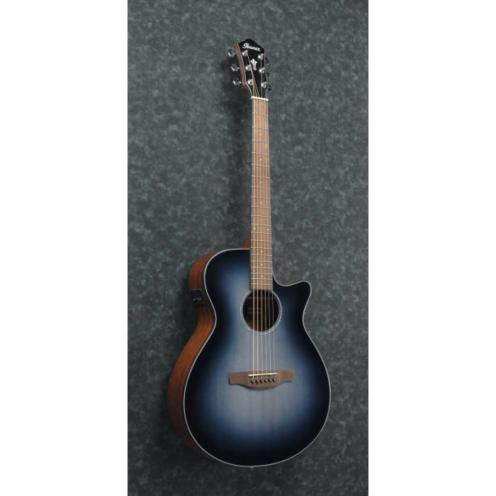 Angled View of Ibanez AEG50 Electro-Acoustic Guitar