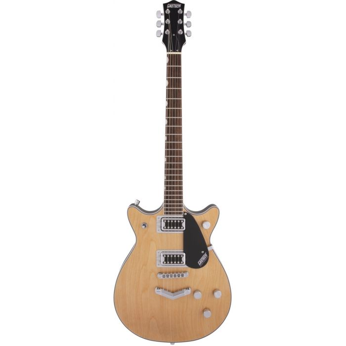 Gretsch G5222 Electromatic Double Jet Aged Natural Front