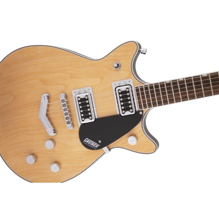 Gretsch G5222 Electromatic Double Jet Aged Natural Detail