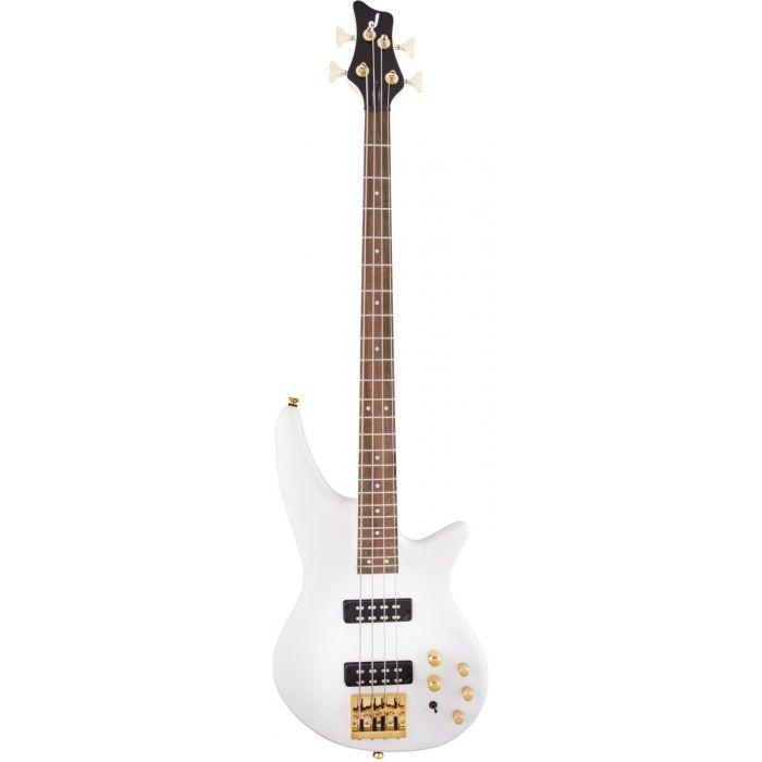 Jackson JS Spectra Bass JS3 Snow White Front