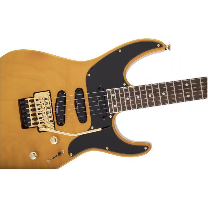 Jackson X Soloist SL4X DX Butterscotch Detail