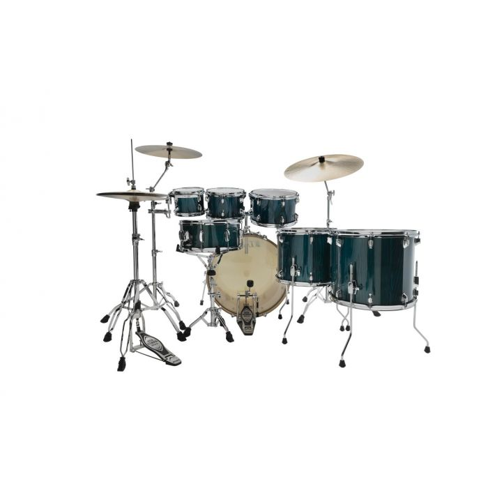 Tama Superstar Classic 7 Piece Shell Pack Gloss Java Lacebark Pine