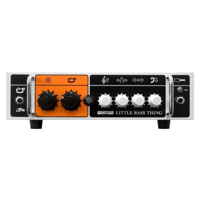 500 Watt Orange Little Bass Thing, as viewd from the front