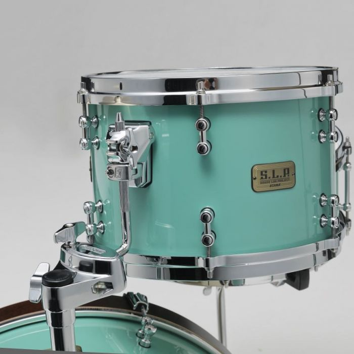 Rear View of Tama SLP Fat Spruce Mounted Tom