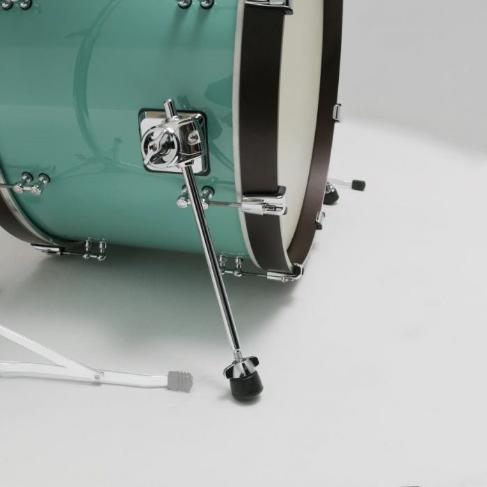 Rear View of Tama SLP Fat Spruce Bass Drum