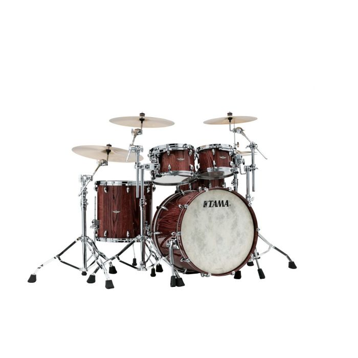 Tama Star Walnut 3pc Shell Pack Cinnamon Japanese Chestnut main view