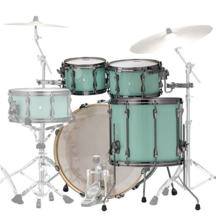 Rear View of Tama Superstar Hyper-Drive Maple 4-Piece Shell Pack
