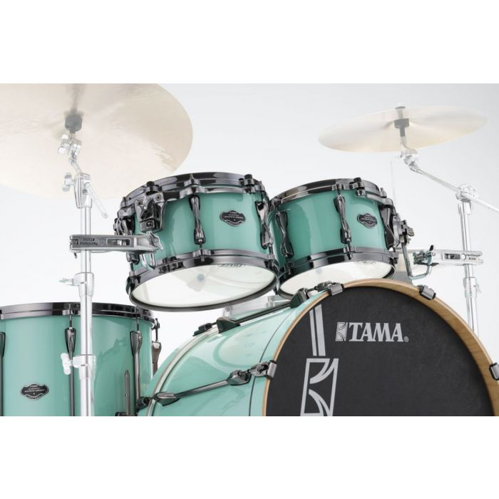Low Angle View of Tama Superstar Hyper-Drive Toms