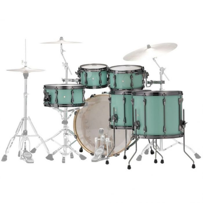Rear View of Tama Superstar Hyper-Drive Maple 5-Piece Shell Pack