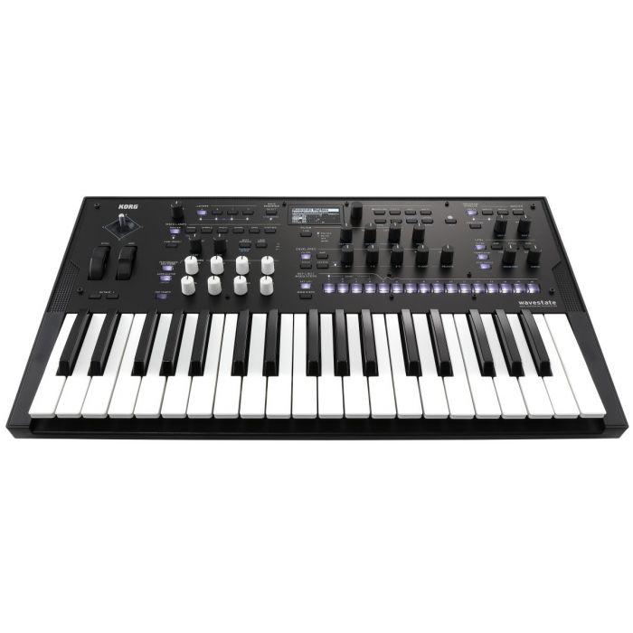 Korg Wavestate Synthesizer Front Angle