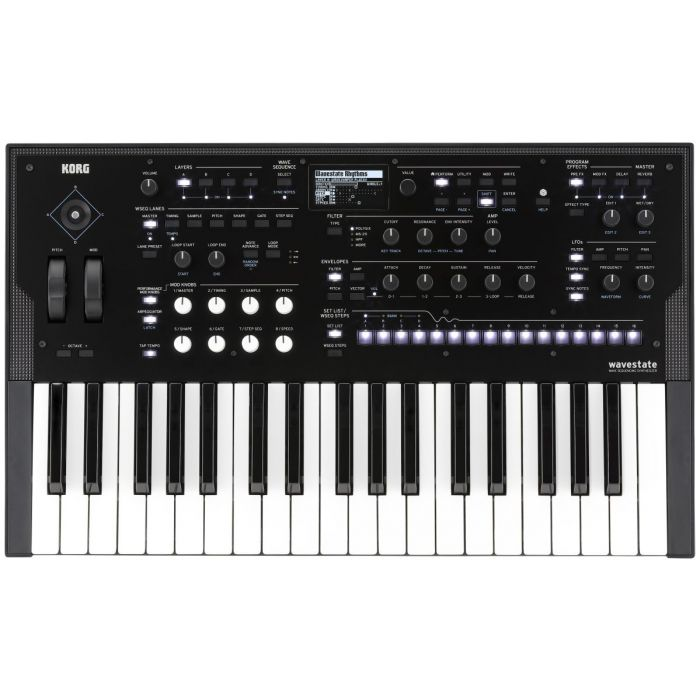 Korg Wavestate Synth Top Down