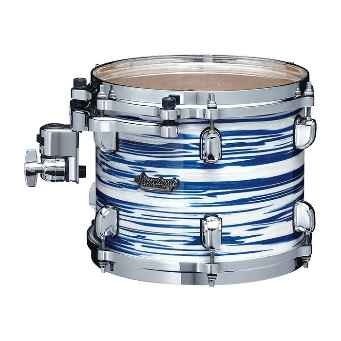 Tama Starclassic Maple Tom Drum Blue and White Oyster