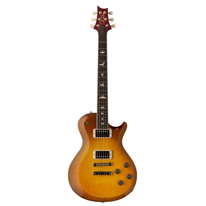 Front view of a PRS S2 McCarty 594 Singlecut Electric Guitar McCarty Sunburst