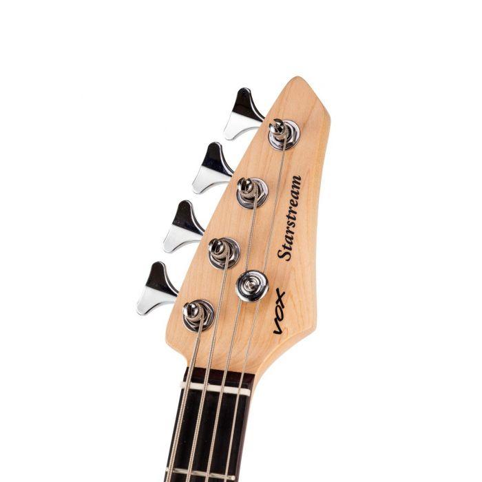 Vox Starstream Bass S2 Headstock