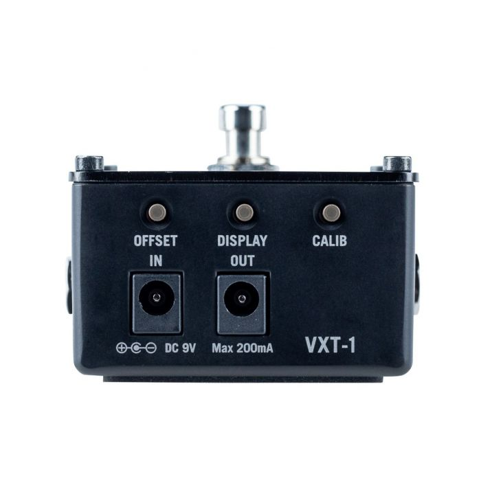 Top View of Vox VXT-1 Strobe Pedal Tuner