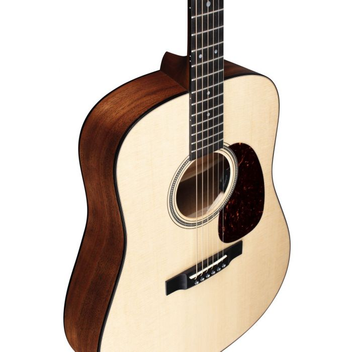 Martin D-16E Mahogany Electro Acoustic Top Front Angled View