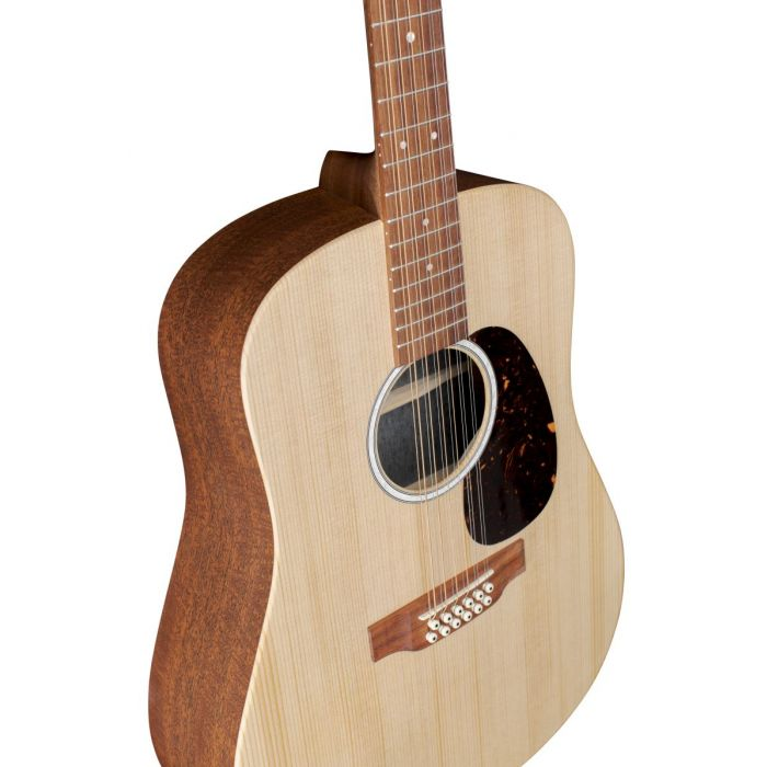 Martin D-X2E 12 String Electro Acoustic Angled Front View