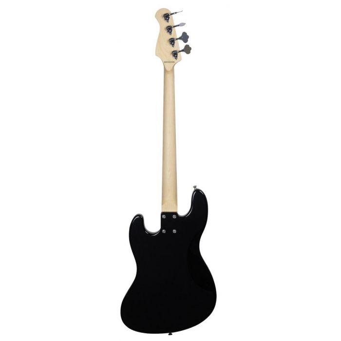 Full rear-sided view of an Ashdown The Grail 4 Bass Guitar, Black