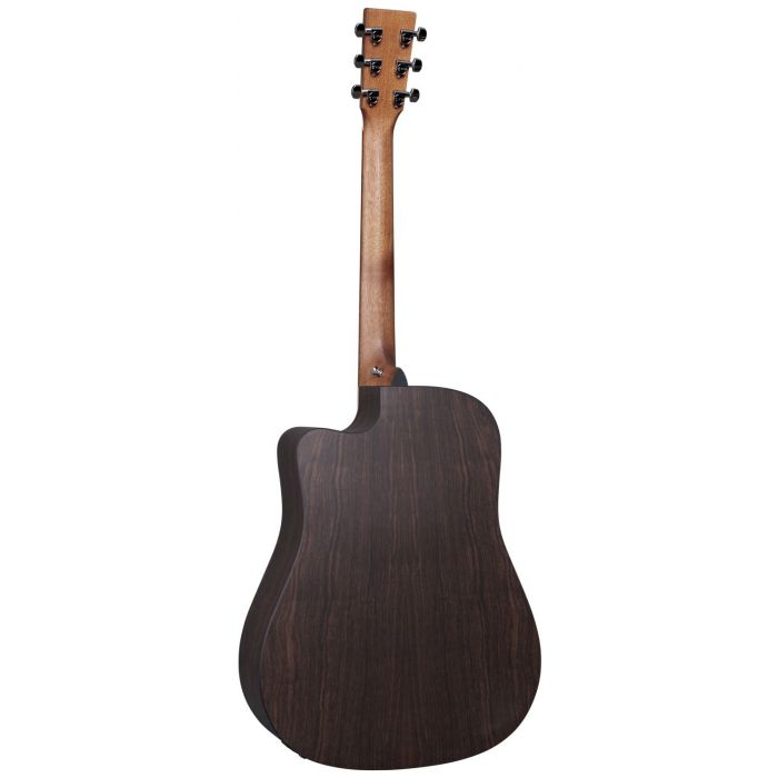 Rear View of Martin DC-X2E Rosewood