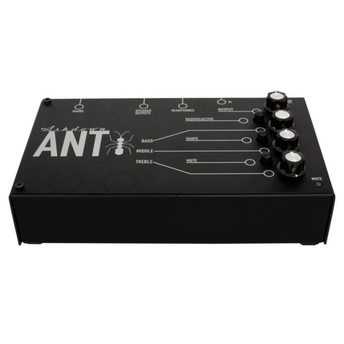 Front profile view of an Ashdown FS-ANT-200 Powered Bass Amp Pedal