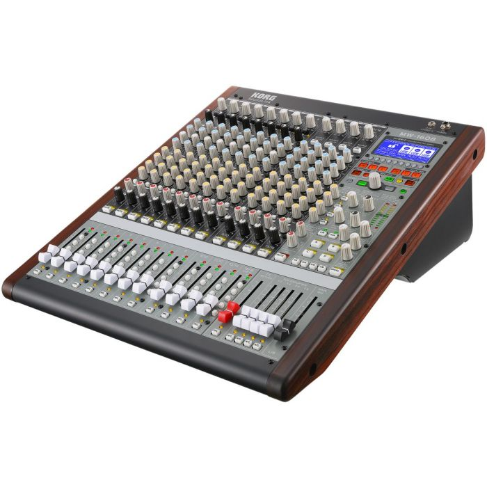 Angled View of SoundLink MW 1608 Hybrid Mixer