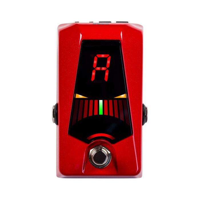 Top View of Korg Pitchblack Advance Pedal Tuner