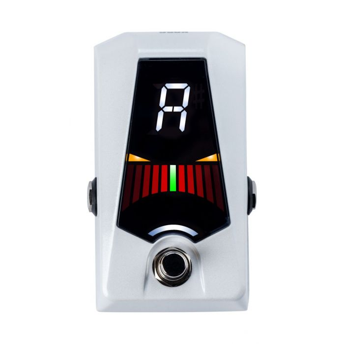 Front View of Korg Pitchblack Advance Pedal Tuner