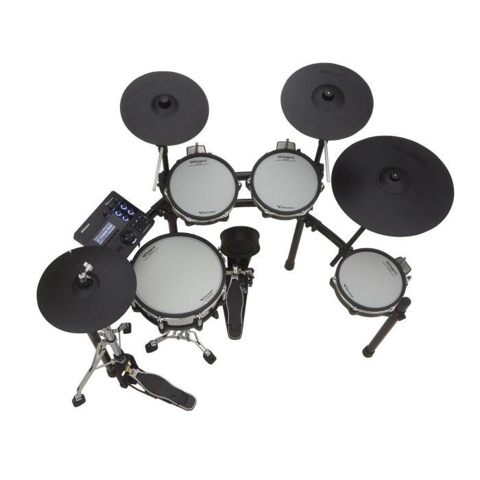 Overhead View of Roland TD-27KV V-Drums