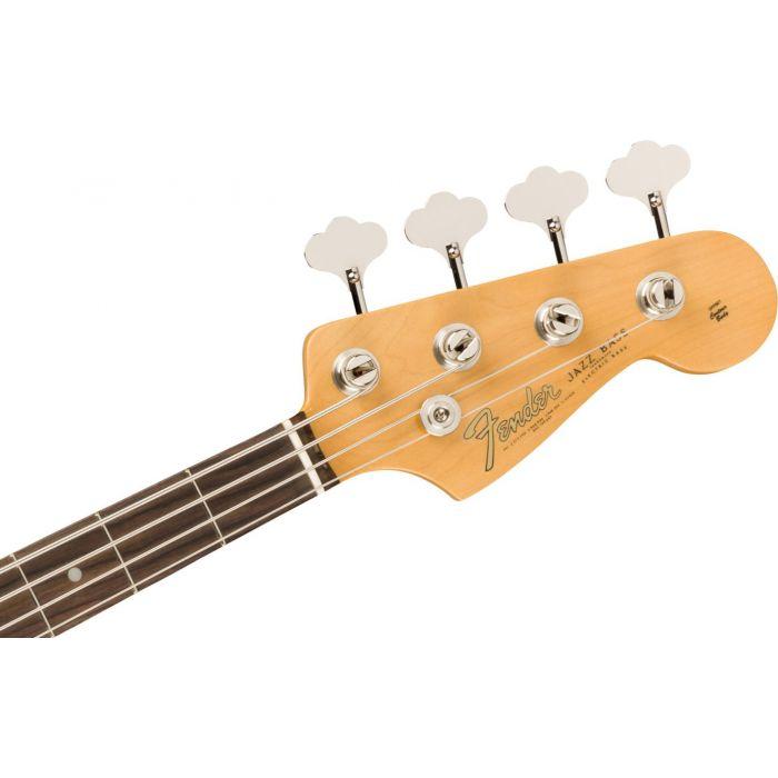 American Original 60s Jazz Bass Headstock Front