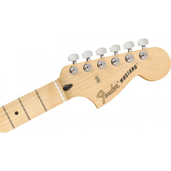 Mustang Headstock Front