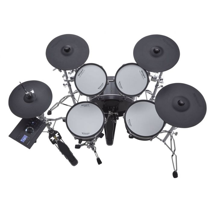 Top View of Roland VAD306 Electronic Drum Kit