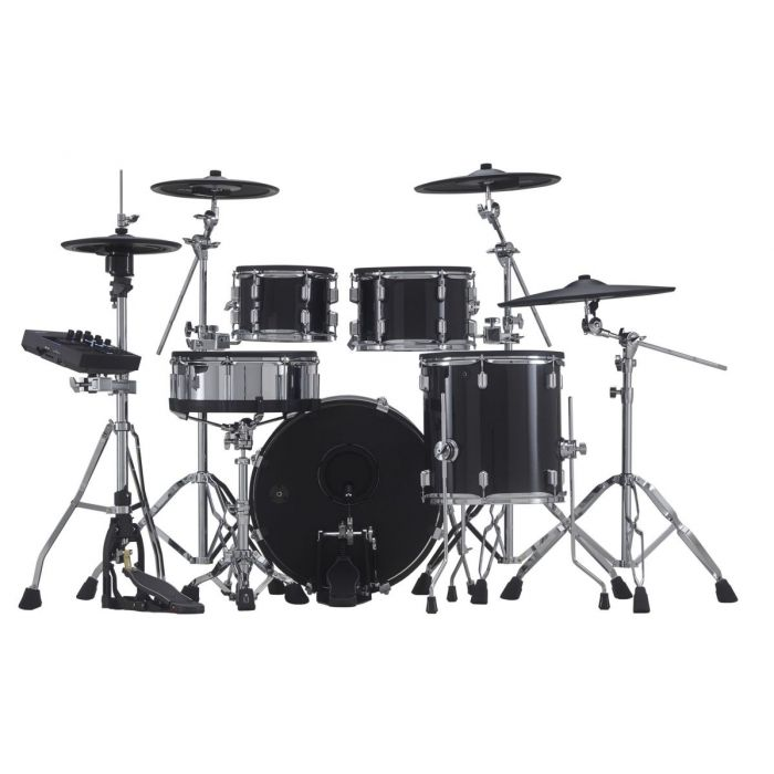 Rear View of Roland V-Drums Acoustic Design VAD506 Hybrid Electronic Drum Kit