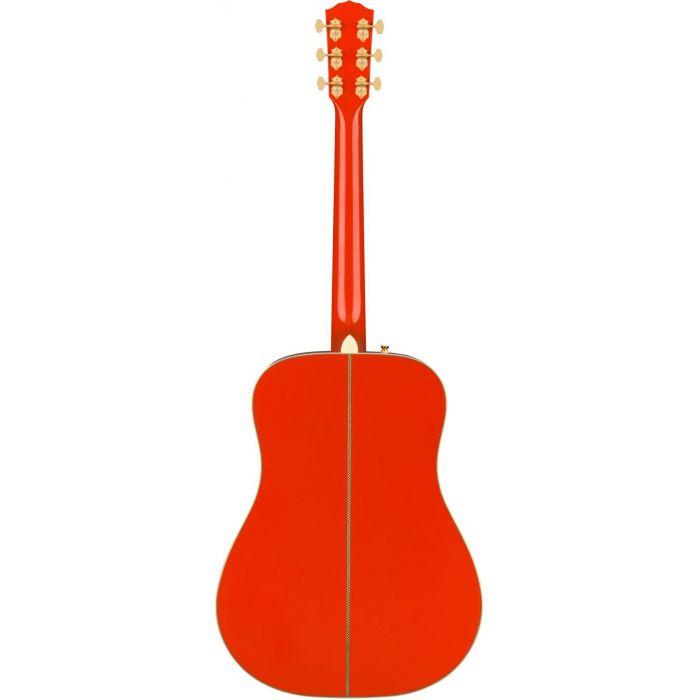 Fender LTD ED PM-1E Fiesta Red back