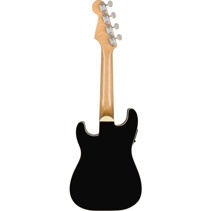 Fender Fullerton Stratocaster Uke Black back