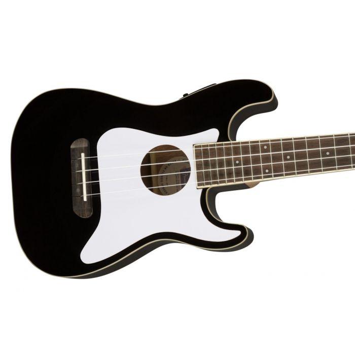 Fender Fullerton Stratocaster Uke Black cntbdyright