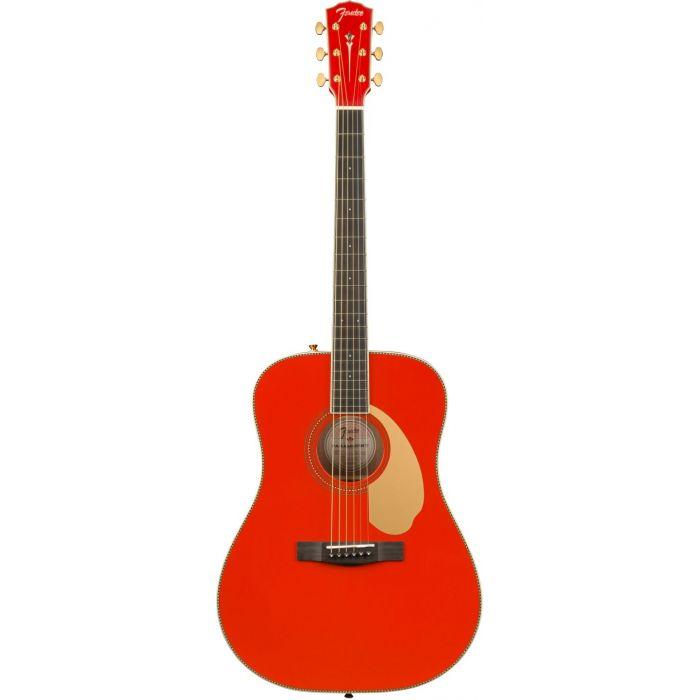 Fender LTD ED PM-1E Fiesta Red frt
