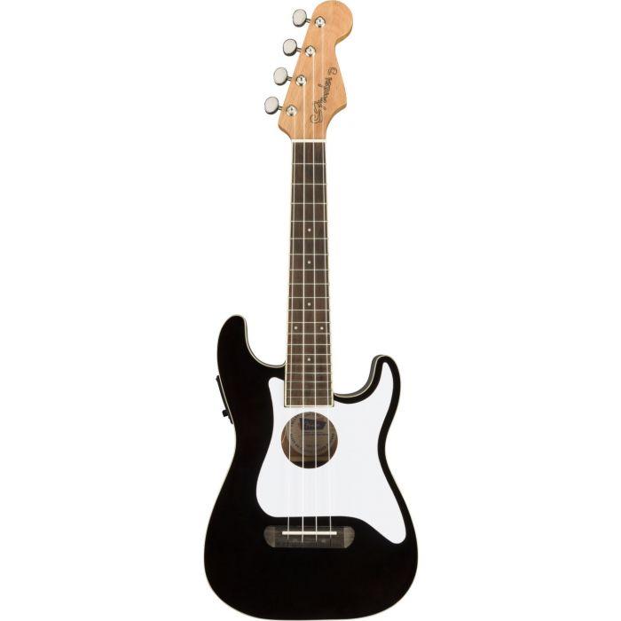 Fender Fullerton Stratocaster Uke Black frt