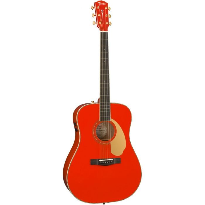 Fender LTD ED PM-1E Fiesta Red frtangle