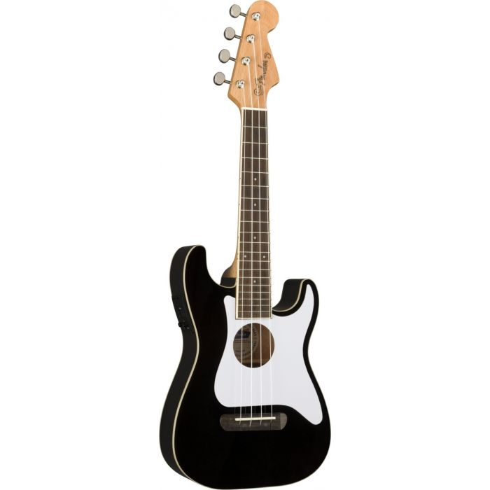 Fender Fullerton Stratocaster Uke Black frtangle