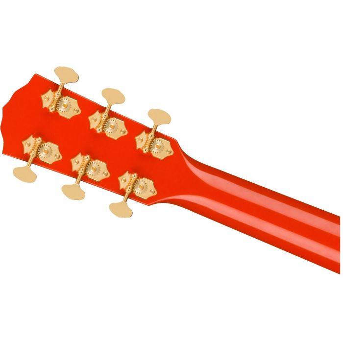 Fender LTD ED PM-1E Fiesta Red hdstckbck