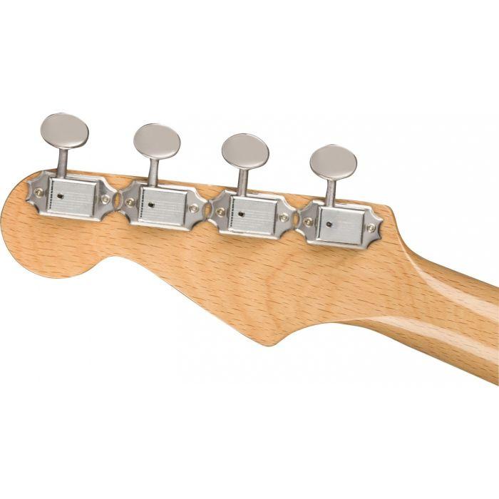 Fender Fullerton Stratocaster Uke Black hdstckbck