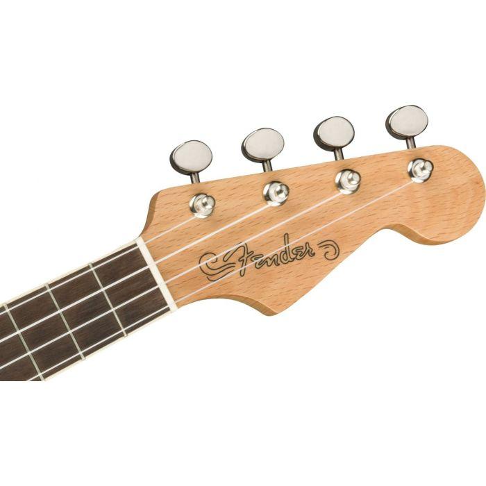 Fender Fullerton Stratocaster Uke Black hdstckfrt