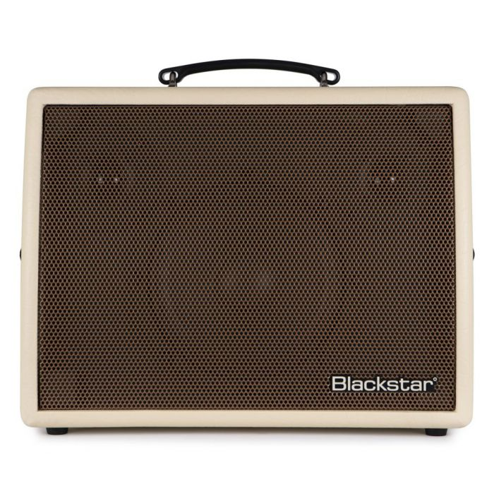 Full frontal view of a Blackstar Sonnet 120 Blonde Acoustic Combo Amplifier