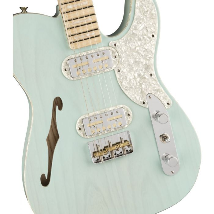 Fender Tele Magico Body Detail