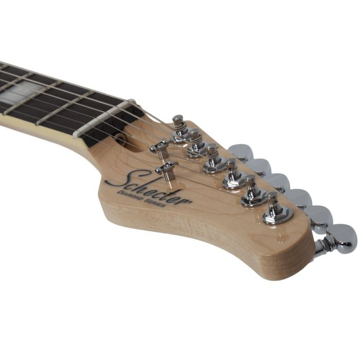 Headstock with Machine tuning heads