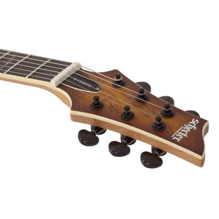 C-1 EXOTIC SPALTED MAPLE SNVB HEADSTOCK