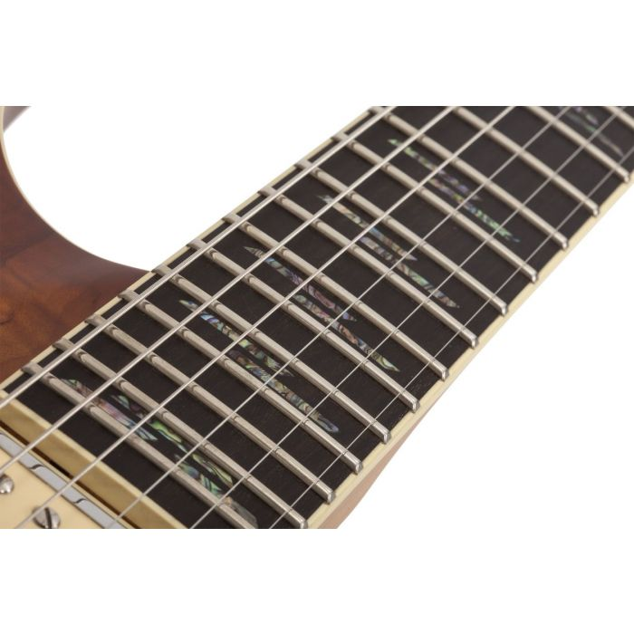 C-1 EXOTIC SPALTED MAPLE SNVB INLAYS CLOSE