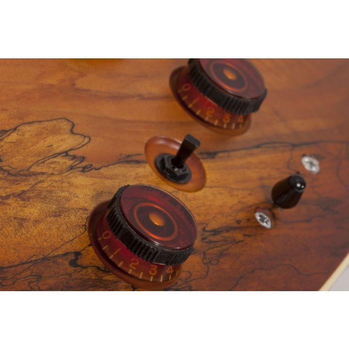 C-1 EXOTIC SPALTED MAPLE SNVB KNOBS